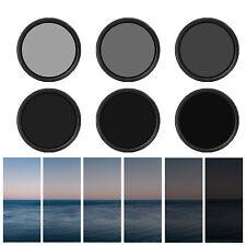 67mm Lens Slim Adjustable ND2 to ND400 Fader Variable Neutral Density Filter