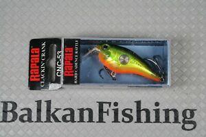 Rapala Clackin' Crank CNC-53  5cm/9g  Color: CSD Chartreuse Shad