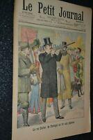 Le petit journal Supplément illustré N°626 / 16-11-1902 / Le roi Carlos