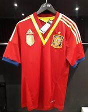 ADIDAS SPAIN FOOTBALL SHIRT WORLD CUP LOGO