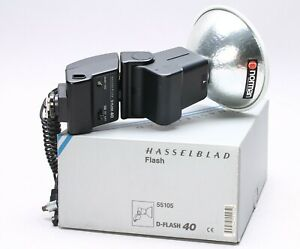 HASSELBLAD D FLASH 40 SHOE MOUNT 55105 W/ BOX
