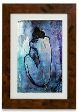 Blue Nude Framed Print  by Pablo Picasso