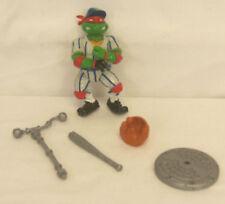 1991 TMNT Teenage Mutant Ninja Turtles GRAND SLAMIN' RALPH Figure 100% COMPLETE