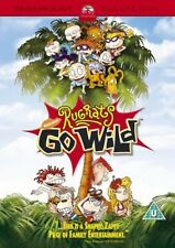 RUGRATS - GO WILD - Bruce Willis, Chrissie Hynde, Tim Curry New UK Region 2 DVD
