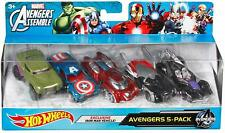 Super Hero Cars Justice League 5 Pack Batman Superman Aquaman Marvel Avengers
