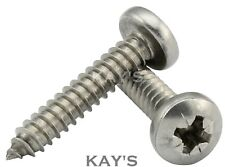 POZI PAN SELF TAPPING SCREWS A2 STAINLESS STEEL TAPPERS #2,4,6,8,10,12,14, KAYS