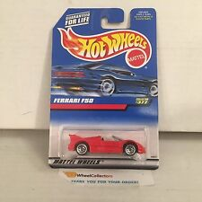 Ferrari F50 #377 * RED w/ Lace Rims * 1998 Hot Wheels * B21