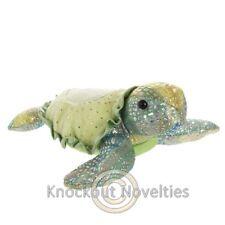 Tamara Turtle - Small Aurora Plush Stuffed Animal Toy Cute Cuddly Sparkly Green