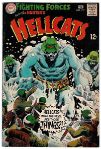 OUR FIGHTING FORCES #117 in FN+ grade 1968 DC WAR comic LT. Hunter's HELLCATS