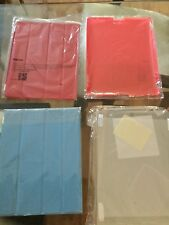 Smart Cover Magnetic Case For Apple iPad 2, 3, 4 and etc. Blue and Red Colors