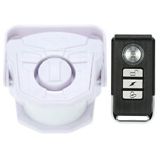 New Intelligent Motion Sensor Siren Home Security Remote Control Alarm Chime