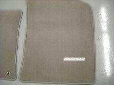 2003-2008 Toyota Corolla Carpet Floor Mats OEM Toyota, Oak/Brown PT206-02041-16