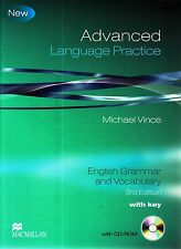 Macmillan ADVANCED LANGUAGE PRACTICE CAE/CPE Third Edition w Key & CD-ROM @New@