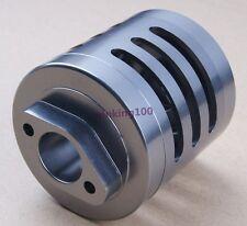 For HPI RC 1:5 HPI Baja KM Rovan Aloy Titanium Alum Air Filter with Sponge Grey