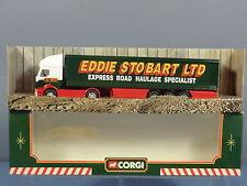 "CORGI MODEL No.59538 RENAULT CURTAINSIDE TRAILER ""EDDIE STOBART LTD""  MIB"