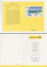 Klappkarte 4.5.99 Europa 1999, Nationalpark Berchtesgaden (MiNr.Block 47)