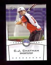 C.J. CHATHAM 2013 Leaf *POWER SHOWCASE* World Classic Baseball Card RC