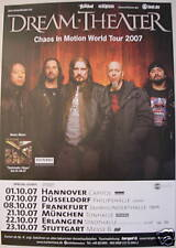 DREAM THEATER CONCERT TOUR POSTER 2007 SYSTEMATIC CHAOS