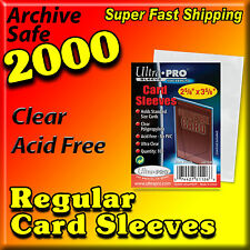 ⚾ 2000 ACEO ATC POLYPROPYLENE CLEAR PLASTIC CARD SLEEVES ULTRA PRO