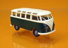"Brekina 31824 Volkswagen VW Samba T1b ""Economy"" - neue Farbe dunkelgrün/beige"