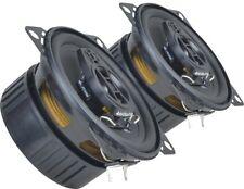 "Vauxhall Opel Corsa D 06-14 Ground Zero speakers 4"" rear+Adapter Brackets Harnes"