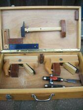 Werkzeugkiste Hobel Winkel Ulmia Werkzeug Doppelhobel kasten koffer Stecheisen