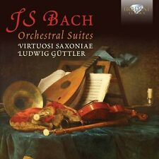 J.S. Bach / Viruosi Saxoniae / Guttler - Orchestral Suites [New CD]