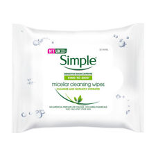 Simple Kind to Skin Micellar Cleansing Facial Wipes - 25 Wipes.