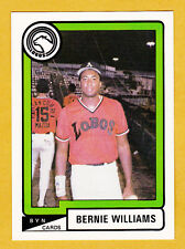 UPDATE SET 1988-89 BASEBALL PUERTO RICO WITH BERNIE WILLIAMS AND RUBEN SIERRA