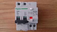 Schneider A9F74225 C60 miniature circuit breaker 25A  + Vigi C60 2P 30mA Type A