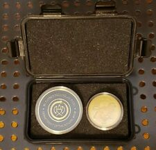 John Wick Continental Hotel & Adjudicator Coin Set in Tactical Case Cosplay Prop