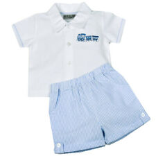 Baby Boy Shirt and Shorts Two Piece Set