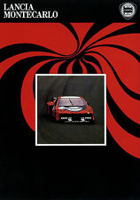 Prospekt Lancia Montecarlo S2 1980 Autoprospekt 88799111 Auto PKWs Broschüre