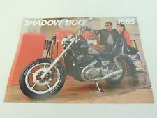 NOS 1985 Shadow 1100 Honda Dealer Brochure L34