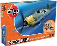 "Brand New Airfix Quick Build ""Fits The Box"" Messershmitt Bf109  Model Kit."