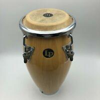 "Latin Percussion LP MINI Conga Wood Drum 11"" Tall Natural Finish Quinto C7"