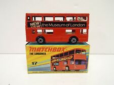 MATCHBOX 1-75 SUPERFAST NO17 LONDON BUS MUSEUM OF LONDON MINT BOXED NOS (MB118)