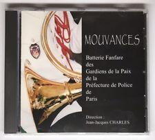 CD Mouvances Batterie Fanfare Des Gardiens De La Paix De Paris J.Jacques Charles
