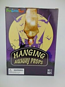 Fun Little Toys Hanging Mummy Prop Halloween Battery Operated Light Up Display