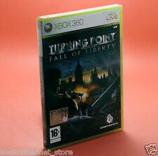 TURNING POINT FALL OF LIBERTY XBOX 360 NUOVO xbox360