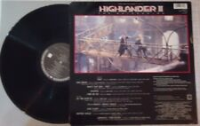LP V/A Highlander 2 - The Quickening (OST) Vinyl NM- Cover VG+