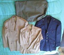 Vintage1940's US Air Force WW2 Military Uniform Jackets/Shirt  4 Pieces