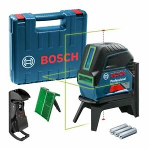 Bosch GCL2-15G Professional Self Levelling Green Cross Line Laser Leveler