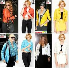 Cotton Casual Cropped Blazer for Women
