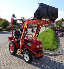 Traktor Schlepper Eurotrack 164 Allrad mit Frontlader und fertigem KFZ-Brief