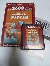 REAL SPORTS SOCCER  -  atari 2600