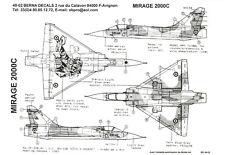 Berna Decals 1/48 DASSAULT MIRAGE 2000C NATO Tiger Meet 1987