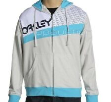 Oakley ORIGINAL GRIP Hoodie Dove Size XL Mens Boys Hooded Jacket Jumper Shirt