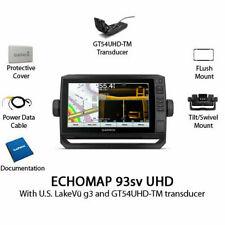 NEW Garmin ECHOMAP UHD 93sv Chartplotter/Fishfinder with GT54UHD-TM 010-02342-01