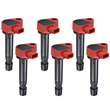 Performance Ignition Coil 6Pcs for Honda Accord Odyssey/ Acura Cl Rl Tl V6, Red (Fits: Acura Rl)